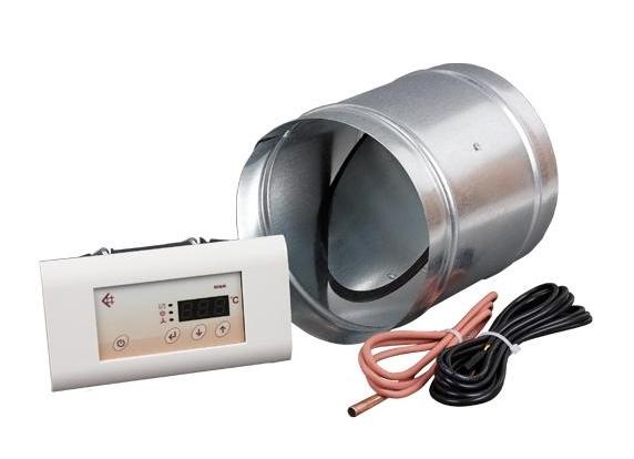 KRATKI Automatická regulace přívodu vzduchu - Automatická regulace přívodu vzduchu průměr 125 mm KRATKI