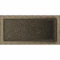 KRATKI ventilační mřížka 22x45 černo-zlatá