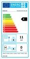 KRATKI Teplovzdušná krbová vložka Kratki Blanka 670/570 - BS levé prosklení s externím přívodem vzduchu