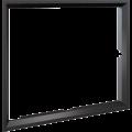Kratki instalační rámeček 45° pro krbovou vložku Lucy 15 rovné sklo