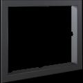 Kratki instalační rámeček 90° pro krbovou vložku Lucy 15 rovné sklo