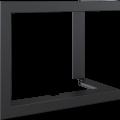 Kratki ocelový rámeček 90° pro  Lucy 12 BS pravé boční proskl. / Lucy 12 SLIM BS pravé boční proskl.