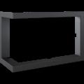 Kratki ocelový rámeček 90°pro Lucy 14 BS levé boční prosklení / Lucy 14 Slim BS levé boční prosklení