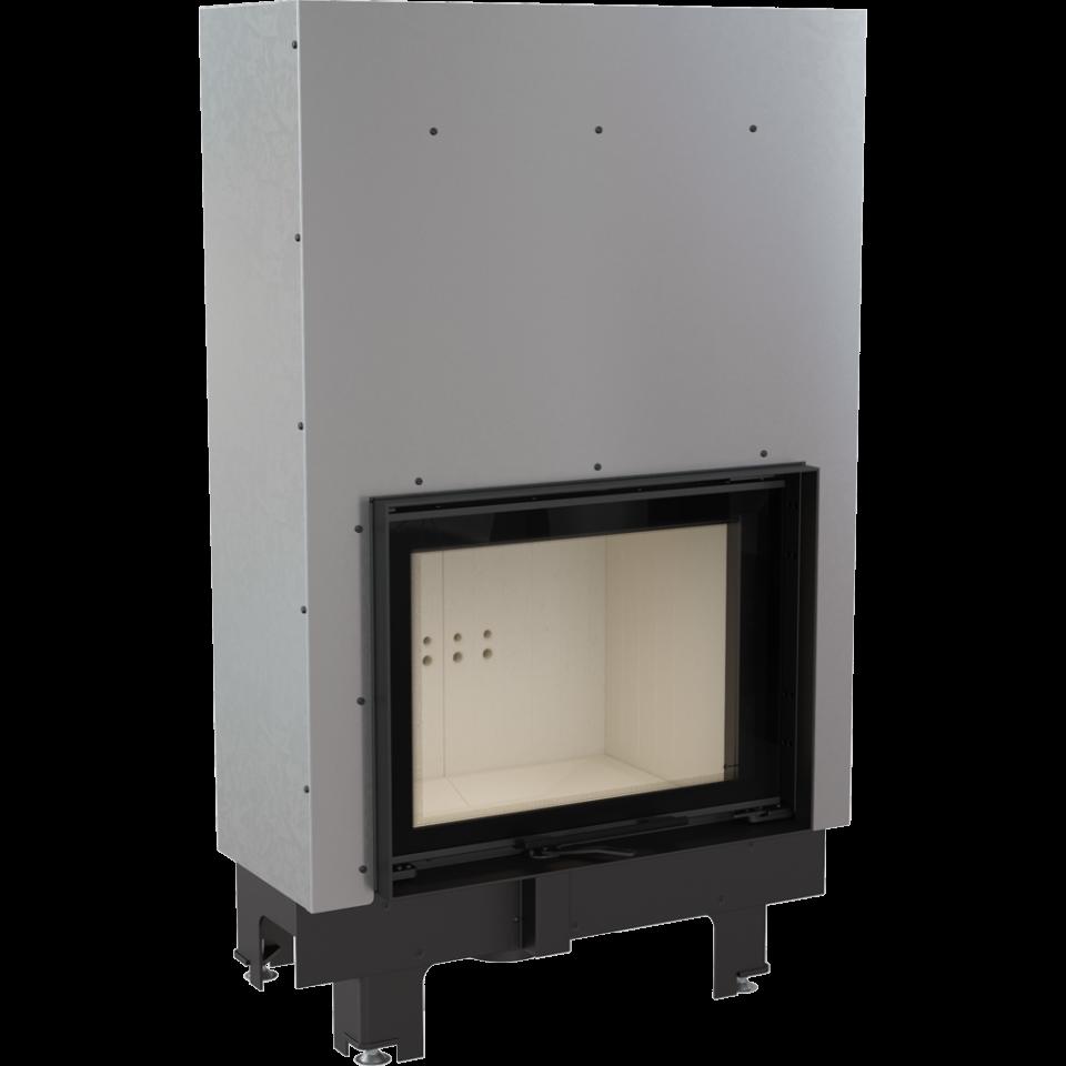 KRATKI Teplovodní krbová vložka MBM TV G 10 kW gilotina DOPRAVA ZDARMA Kratki