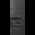 KRATKI krbová stavebnice Kratki SIMPLE BOX levý černý