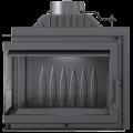 KRATKI litinová teplovzdušná krbová vložka Kratki SIMPLE M/S 8 L BS levé boční prosklení