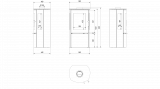 KRATKI Teplovzdušná krbová kamna Kratki FALCON 9 VIEW panoramatické sklo sklo DOPRAVA ZDARMA