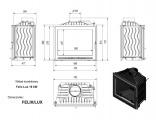 FELIX Lux rovné sklo tech.