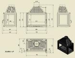 OLIWIA LP třístranné prosklení tech.