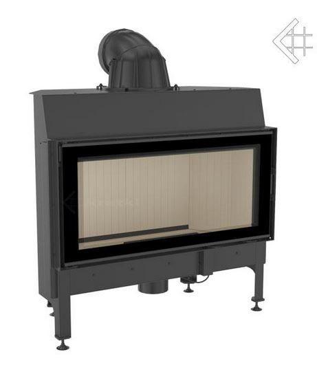 NADIA 14 DG BLACK rovné sklo s dvojitým prosklením