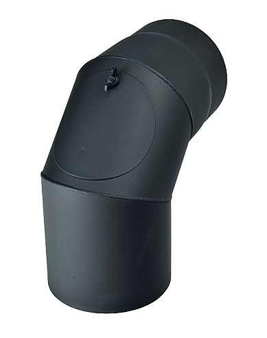 KRATKI Kouřovod koleno čistící 90°, Ø 130 mm Kraus