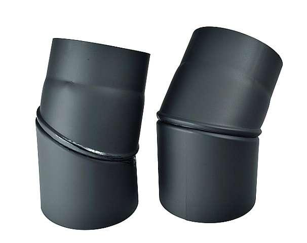 KRATKI Kouřovod koleno stavitelné 0°- 45°, Ø 130 mm Kraus